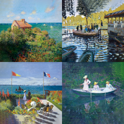 Monet's most beautiful works - Collection 6