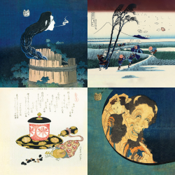 The most beautiful works of Hokusai - Collection 3