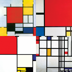 Mondrian's most beautiful works - Collection 1