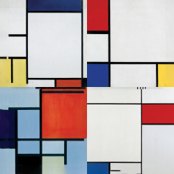 Mondrian's most beautiful works - Collection 2