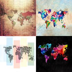 Maps collection 1